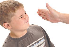 kids getting slapped